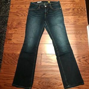 Anthropologie Pilcro low-rise boot cut jeans sz 29